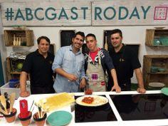 """Comienzo de #abcgastroday con el curso """"Cocinar con anchoas"""""""