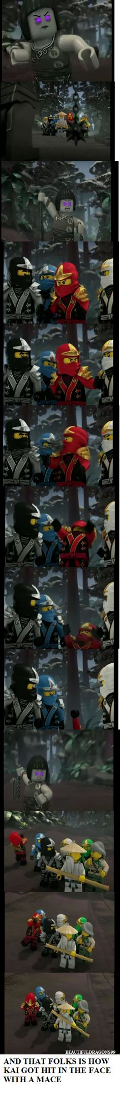 Question: What do you guys like best about Ninjago?