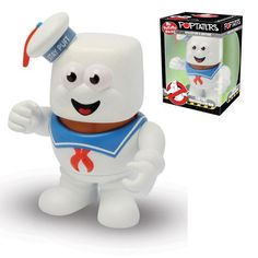 It's The Mr Potato Head - Ghostbusters - Stay Puft Marshmallow Man. Who you…