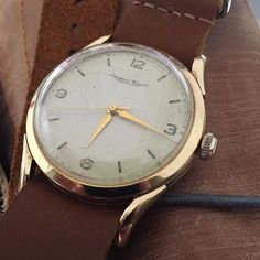 IWC  http://ift.tt/1Yt54cN  @watchflair Vintage IWC 36mm Manual 18K Gold featured on a #crownandbuckle #nato  strap #choppingblock #forsale . -------------------- #womw #watchporn #wotd #watchstrap #watchesofinstagram #watchoholic #vintage #vintagelover #iwc #vintageiwc @iwcgirl @iwc_vsco @iwcwatchesarabia @iwcwatches_uk @iwcwatchesfrance