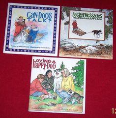 Sled Dog Iditarod 3 Book Trilogy Signed Mary Shields 1st Woman Finisher Age 4-10