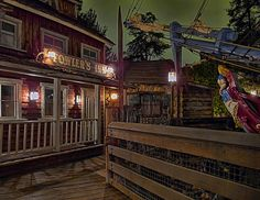 Fowler's Inn, Disneyland by Curtis Lannom, via Flickr   don't forget to go here.