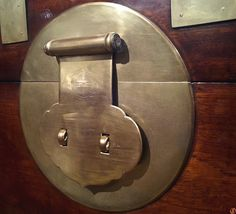 """A Chinese Lock Plate @ NEW YORK CITY - -- - """"Simplicity is one of the toughest design disciplines. What I strive for is simplicity with soul. Felicia, Door Handles, Plate, Chinese, York, City, Beautiful, Design, Home Decor"""