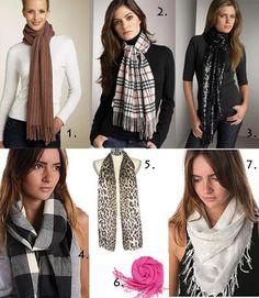 Scarves, scarves, scarves!!!