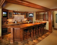 Creating A Bar Or Pub Atmosphere At Home