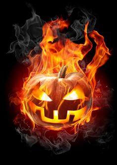 Image result for jack o lantern halloween on fire
