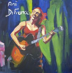 Check out this design by Birgit Schweiger - Art for the Ani DiFranco design contest on Creative Allies! Ani Difranco, Paintings, Creative, Artwork, Fictional Characters, Inspiration, Work Of Art, Biblical Inspiration, Paint