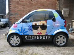 Ritzenhoff, Smart Car Vehicle Wrap. Love their glasses...and now their cars www.SpeedproSilverSpring.com