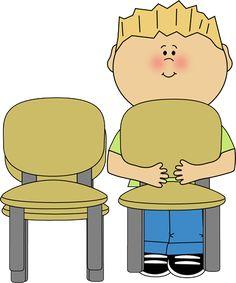 classroom chair clipart. classroom chair stacker clipart o