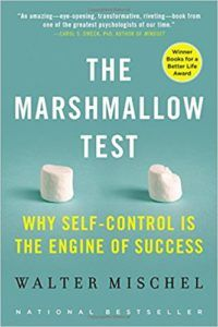 The Marshmallow Test: Mastering Self-Control by Walter Mischel - might be of interest for those, who are interested in psychology, neuroscience, neuromarketing or parenting books. Yes, sounds like a crazy combination.