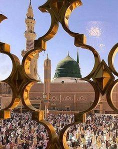 Islamic Images, Islamic Pictures, Islamic Art, Al Masjid An Nabawi, Masjid Al Haram, Mecca Wallpaper, Islamic Wallpaper, Hidden Picture Games, Mecca Islam