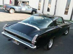 "1966 BARRACUDA FORMULA ""S"" 273ci POWER PACK 4 SPD"
