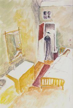 By Jeanne Hébuterne, Morte, 1919
