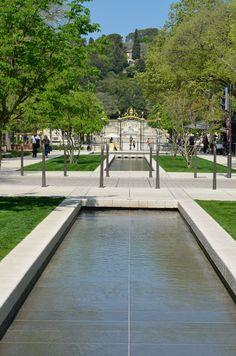 Les jardins de la fontaine nimes jardins de la fontaine pinterest - Jardin japonais monaco nimes ...