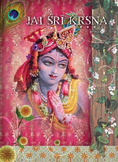 Krsna 5x7 Meditation Card by ThakuraniArts on Etsy, $2.00