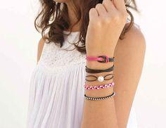 Simple Leather Bracelets
