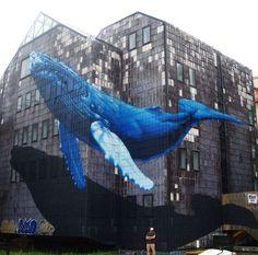 Anamorphic Street Art by Étienne Hem in Zagreb Croatia