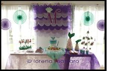 ARIEL LITTLE MERMAID Birthday Party Ideas | Photo 5 of 28 | Catch My Party