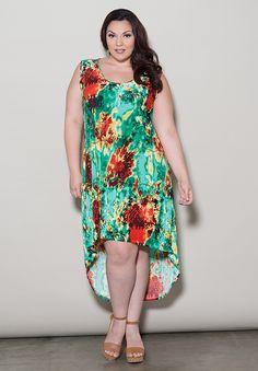 Robes de Taille | Robe Irene Salut Lo Réservoir | Swakdesigns.com