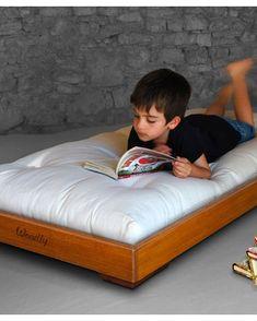Pure Montessori Bed SMALL 120x60 cm - Honey - Made in Italy