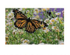 Scottish Heather Peyote Tapestry от Endlessparklebykaren на Etsy