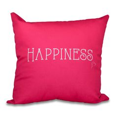 Found it at AllModern - Olevia Happiness Throw Pillow