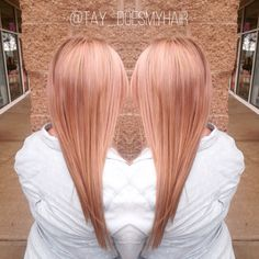 Berries and peach creme customized haircolor. #goldwell #colorance
