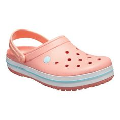 These Crocband clogs feature a vintage-inspired style with classic Crocs comfort. Crocs Crocband, Crocs Size, Cool Crocs, Kid Shoes, Cute Shoes, Me Too Shoes, Pink Crocs, Yellow Crocs, Baskets