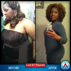 "Jennifer Collins says, ""At first, I thought low carb was impossible after seeing how many carbs were in certain things I labeled as healthy."" But check her out now, 91 pounds later! http://www.atkins.com//Program/Success-Stories/Jennifer-Collins.aspx"