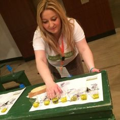 Our olive friend Kiriaki Panagiotou puts some olive oils on Greek map! Let's check what she is trying to do..
