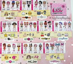 Lol Surprise Checklist Series 2 From Lolsurprise Mgae Com