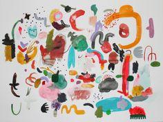 Image of Donut City Series #2 - Original Painting - Kindah Khalidy