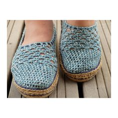 Ravelry: Coral Lace Basic Slippers/Espadrilles by Sophie and Me-Ingunn Santini