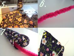 Trends With Benefits: DIY Floral Wire Headband