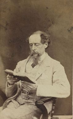 Dickens:  would love to know what he was reading ...
