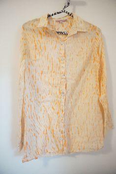 Calypso St Barth Cotton Orange Tie Dye Tunic Size XS #CalypsoStBarth #Tunic #Casual