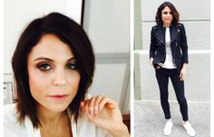 New look, new life. Bethenny Frankel shows off her new do.