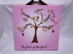 The+Fruit+of+the+Spirit+Scripture+Wall+Art+by+STROKESofFAITH,+$25.00