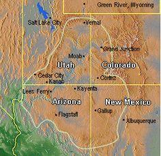 Navajo-Hopi tea or greenthread *Outline of Colorado Plateau, showing Gallup in New Mexico. Colorado Plateau, Cedar City, Moab Utah, Native American Tribes, Speak The Truth, Salt Lake City, New Mexico, Navajo, Arizona