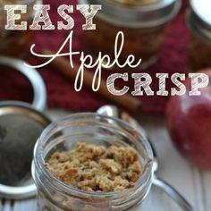 Easy Apple Crisp Recipe - The Busy Budgeter