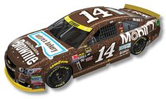2016 TONY STEWART #14 NATURES BAKERY BROWNIE SPECIAL PAINT SCHEME