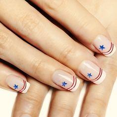 july 4th nail designs   Really Cool 4th of July Nail Art Design Ideas