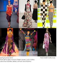 Catwalk trend: Prints!  #fashion #prints #iammode # catwalk