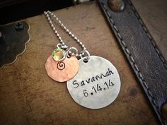 Hey, I found this really awesome Etsy listing at https://www.etsy.com/listing/192985587/personalized-baby-name-necklace