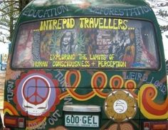 Traveling hippie style