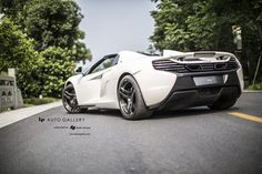 McLaren 650S Spider by LP auto rear side angle