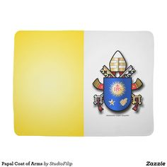 Papal Coat of Arms Swaddle Blanket