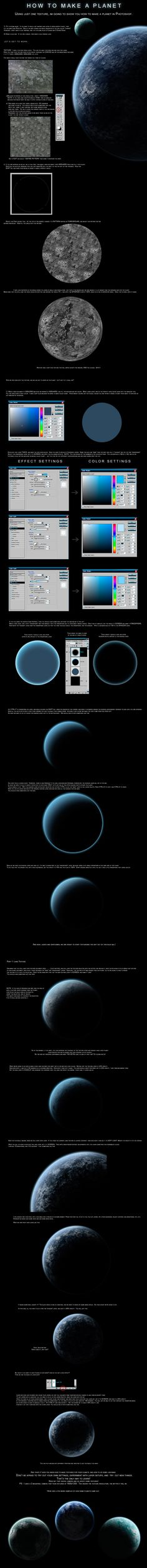 Photoshop Digital Painting Tutorial How to Create a Realistic Planet Realism
