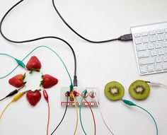 MaKey MaKey Lets You Play With Your Food, Make Music