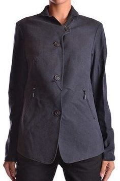 Brema Women's Blue Cotton Jacket.
